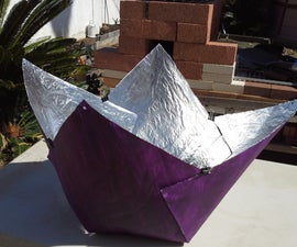 Purple Fig Solar Cooker