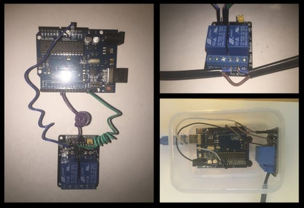 Arduino, Relay and Submersible Pump