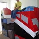 Optimus Prime Bed