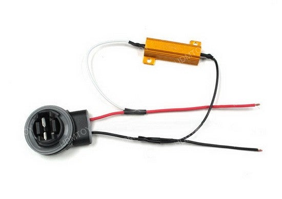 How to Install Load Resistors for LED Turn Signal Lights : 6 Steps (with  Pictures) - InstructablesInstructables