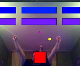DIY视频游戏由头部运动(增强现实)控制