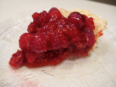 Fresh Raspberry Pie