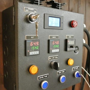 Electric Brewery Control Panel on the Cheap