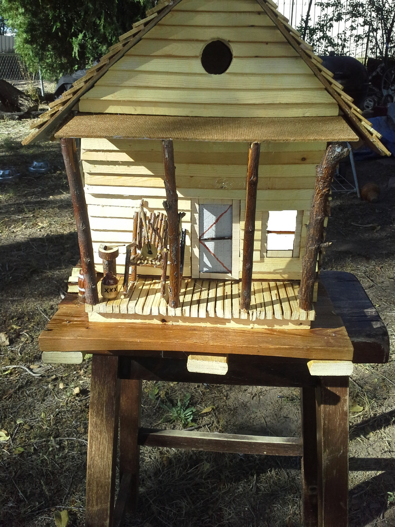 Picture of Hillbilly Birdhouse