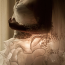 Fiber Optic Wedding Dress