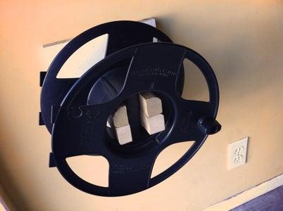 Hang Wheel Holder on Wall