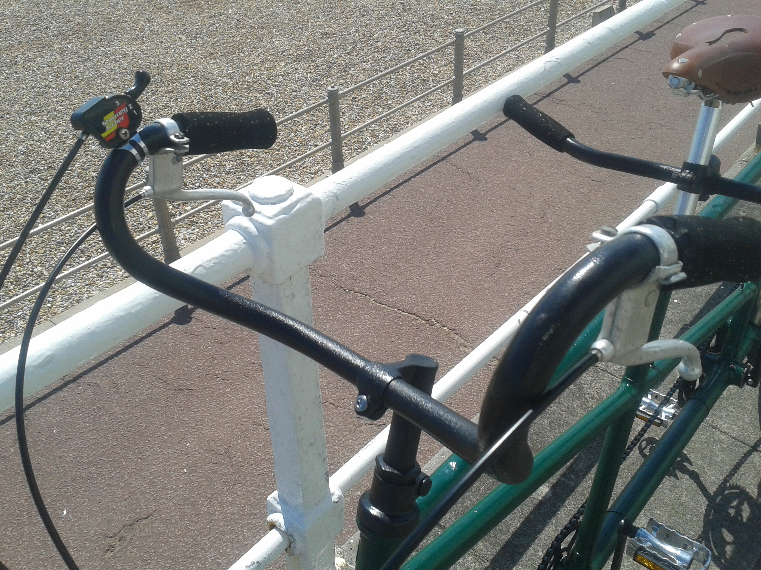 Picture of Seatposts and Handlebars