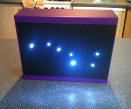 LED Star Constellation Light or night light