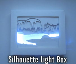 3D Silhouette Light Box