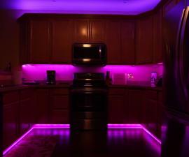 DIY LED Kitchen/Home Light Setup