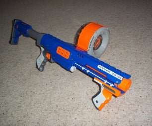 How to Modify and Reassemble a NERF Raider CS-35 for More Power and Range.