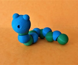 Vermy the Worm toy
