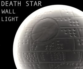That's No Moon... It's a DEATH STAR Wall Light