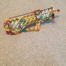 Knex Concept Gun: Bullpup Bolt action Repeating Slingshot