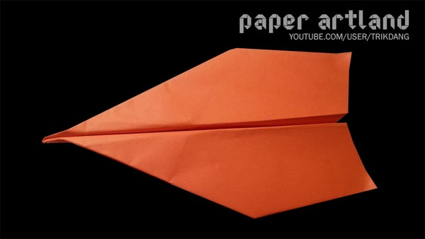 Easy Paper Airplane Tutorial: New Dart | Long Distance Plane!
