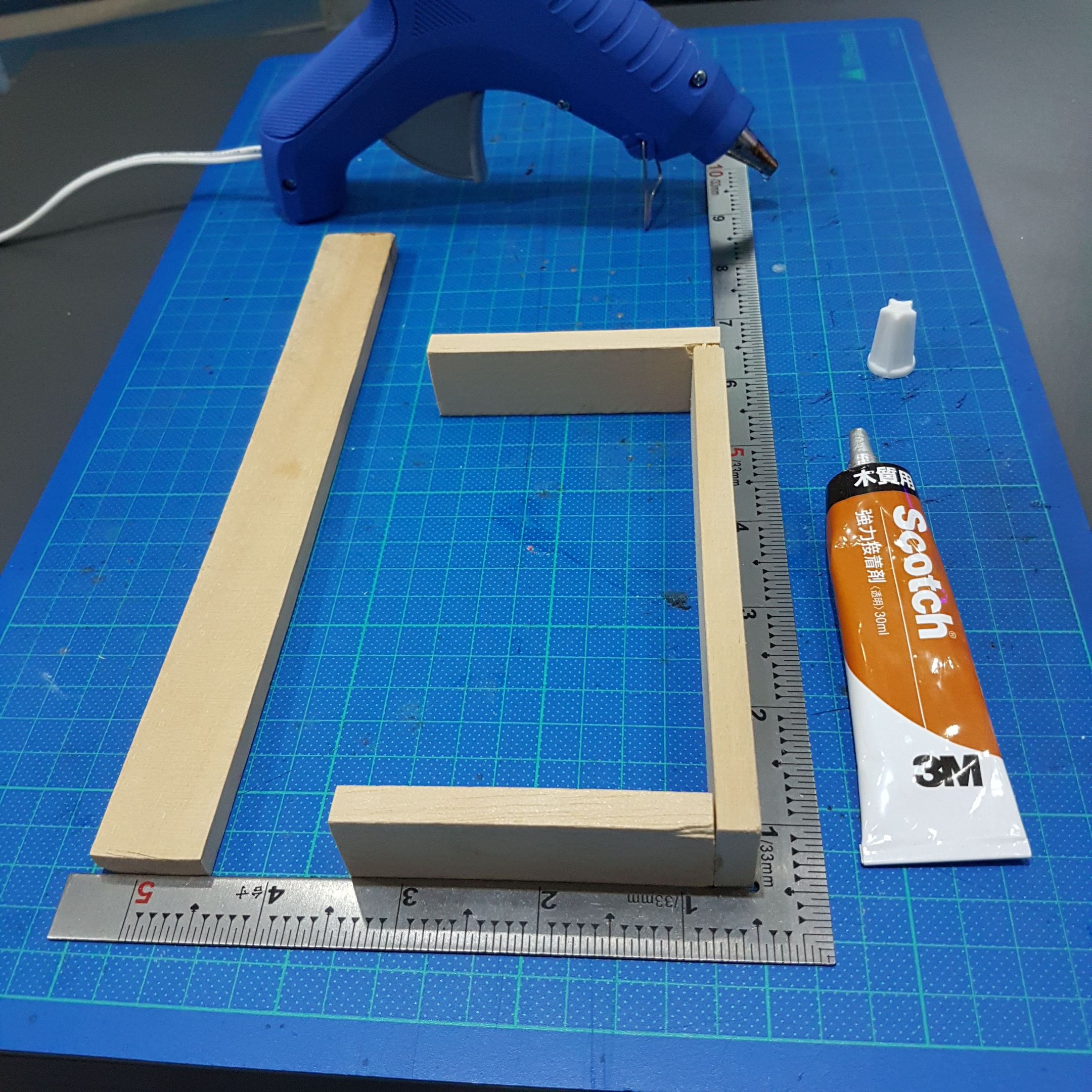 Picture of Cut and Assemble Wood Frame.