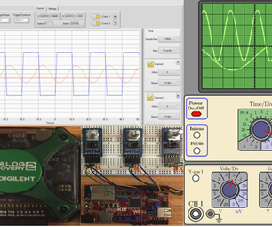 Adding Nobs to the Analog Discovery 2 Using LabVIEW