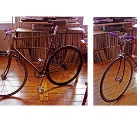 DIY FIXIE - fixed gear, trackbike frame..