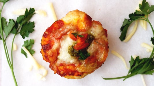 PULL-APART PIZZA MUFFIN