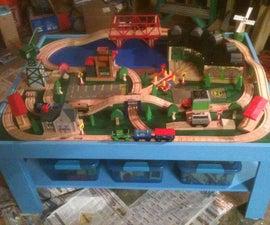 Simple Train Play Table