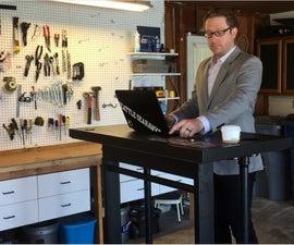 The Treadmill Desk to End all Treadmill Desks