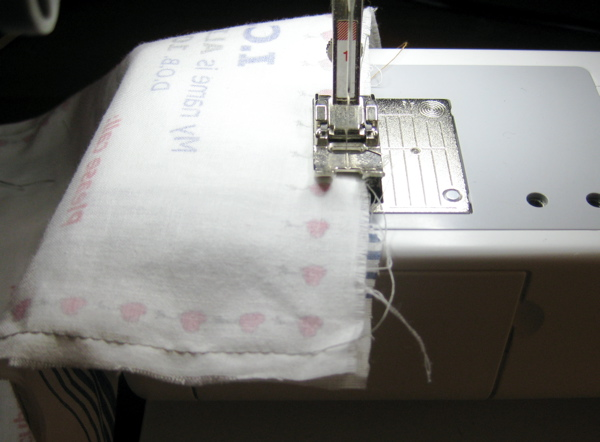 Picture of Sew a Backing