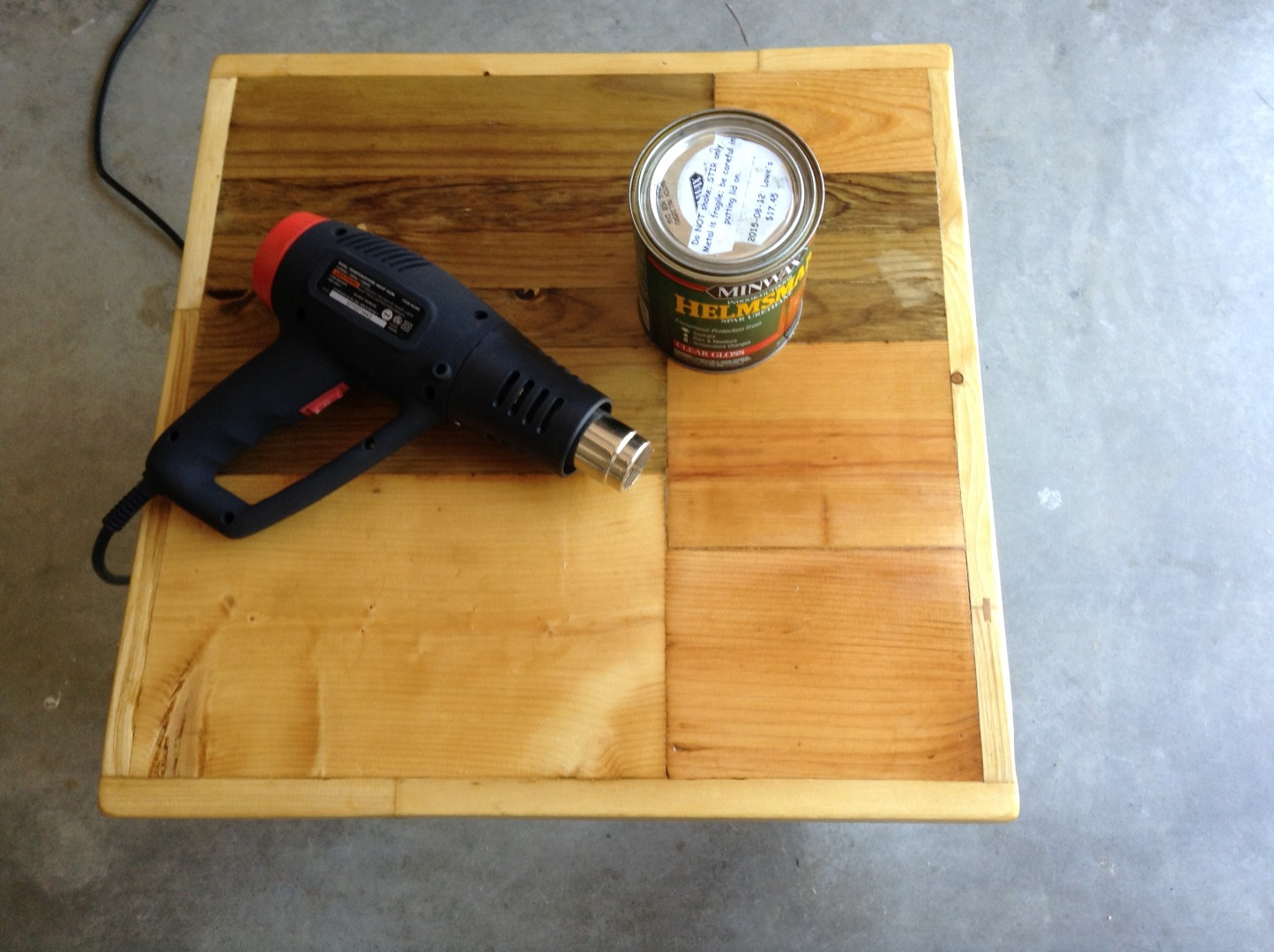 Picture of Finishing - Conditioning, Staining, Coating