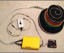 EL Wire Hat: Sequenced and Sound Activated with Remote Control - powered by Arduino and Sparkfun