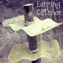 Found object earring catcher