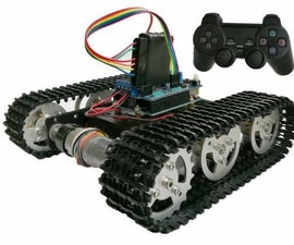 Arduino Wireless Handle Ps2 Controller Kit for Smart Robot Tank Car Chassis