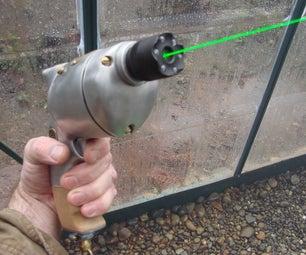 Steampunk Radium Pistol