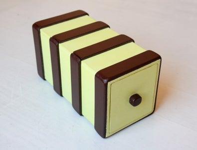 Two Compartment Puzzle Box