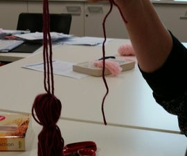 How to Make a Tassel Using a Book and Wool