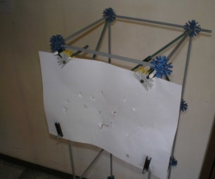 Paper Knex Target ( Ajustable Height )