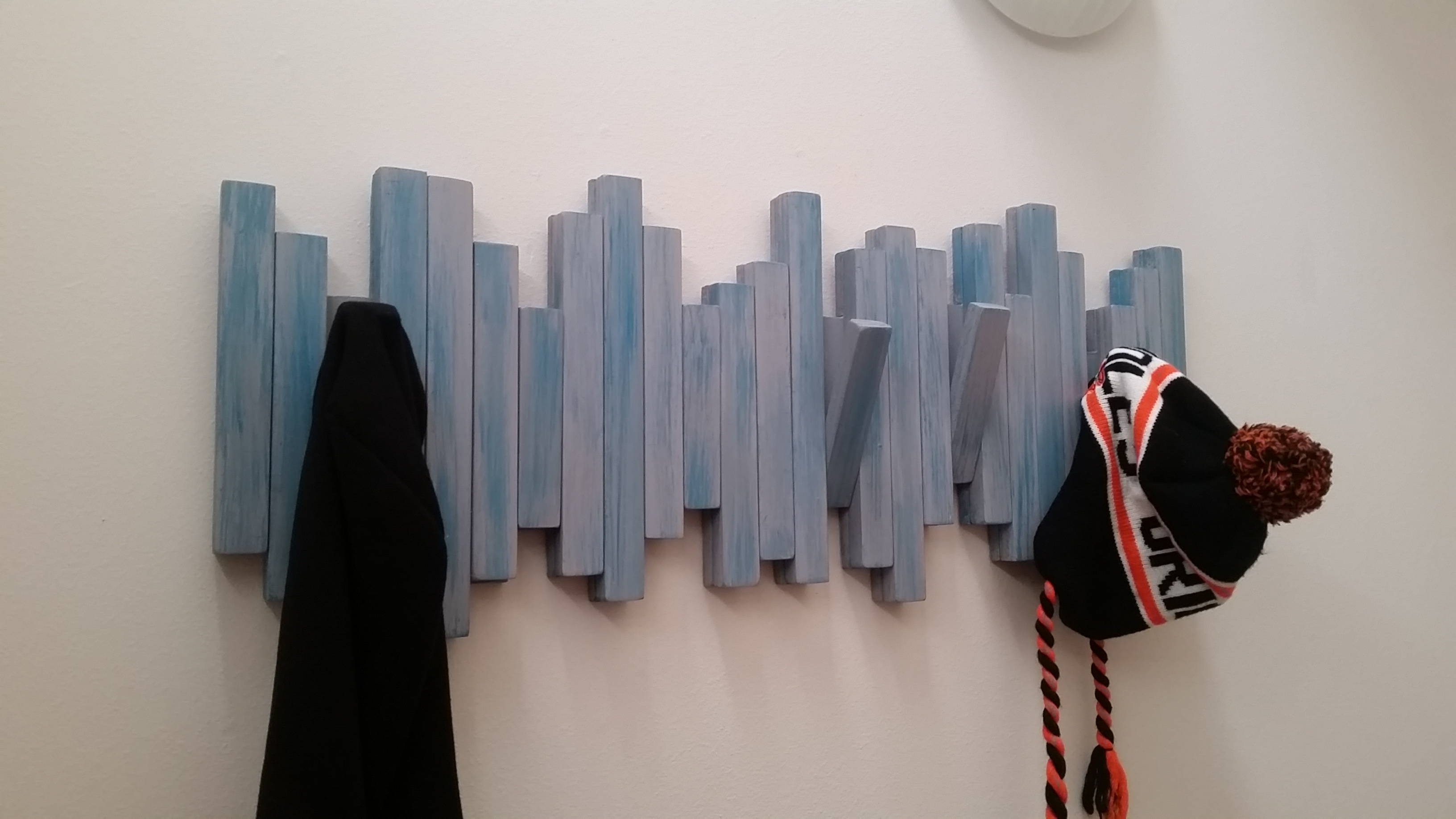 Picture of Wall Mounted Secret Coat Rack