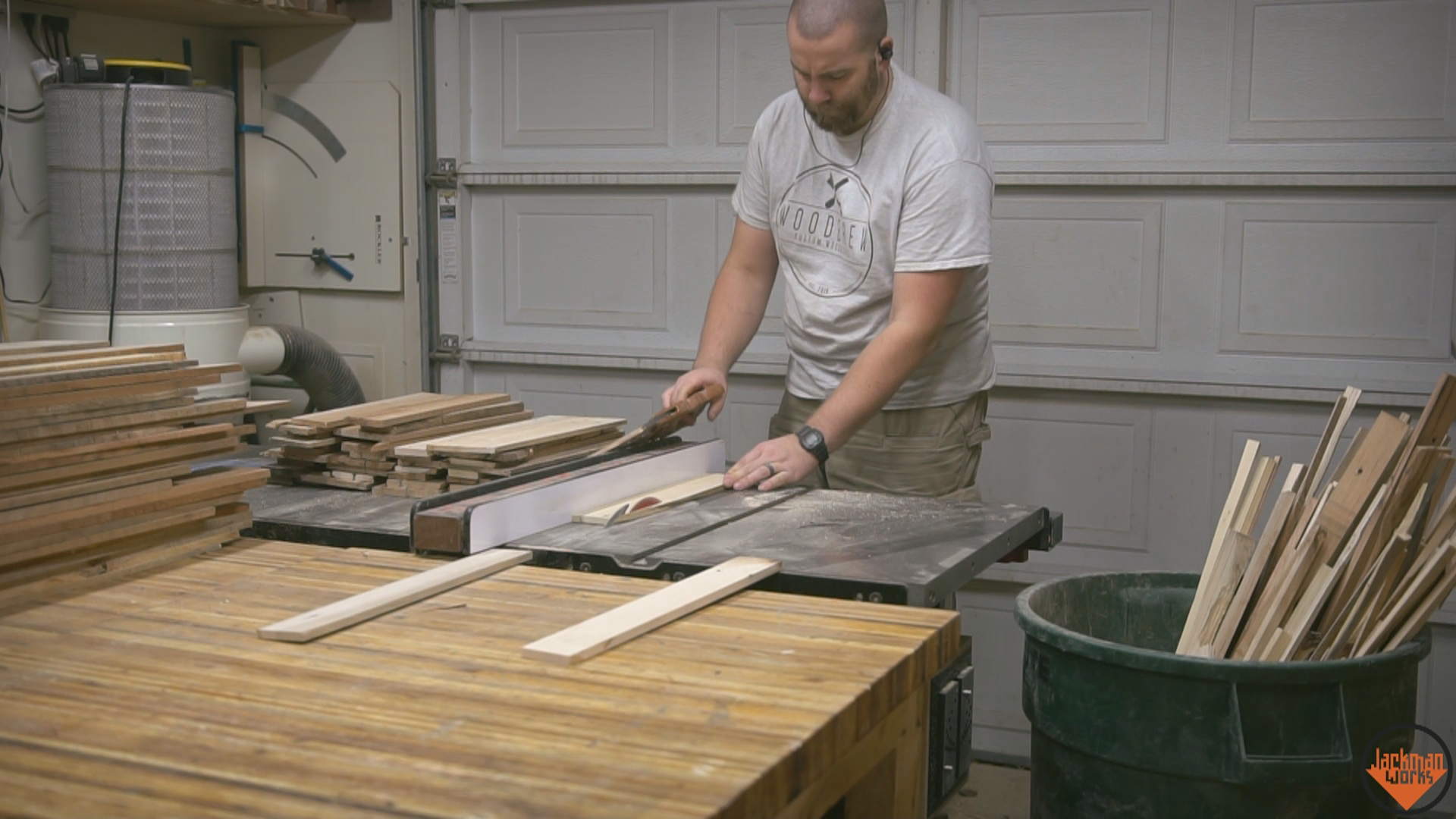 Picture of Processing the Pallet Wood