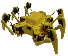 3D Printed 18DOF Hexapod