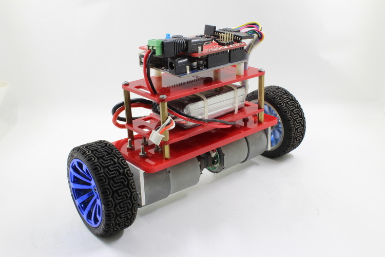 Picture of How to Build  a Bluetooth Wireless Upload Self-balancing Robot