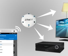 Configuring Home Remote for use with zmote