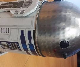 R2D2 Robot with Bluetooth and Sound