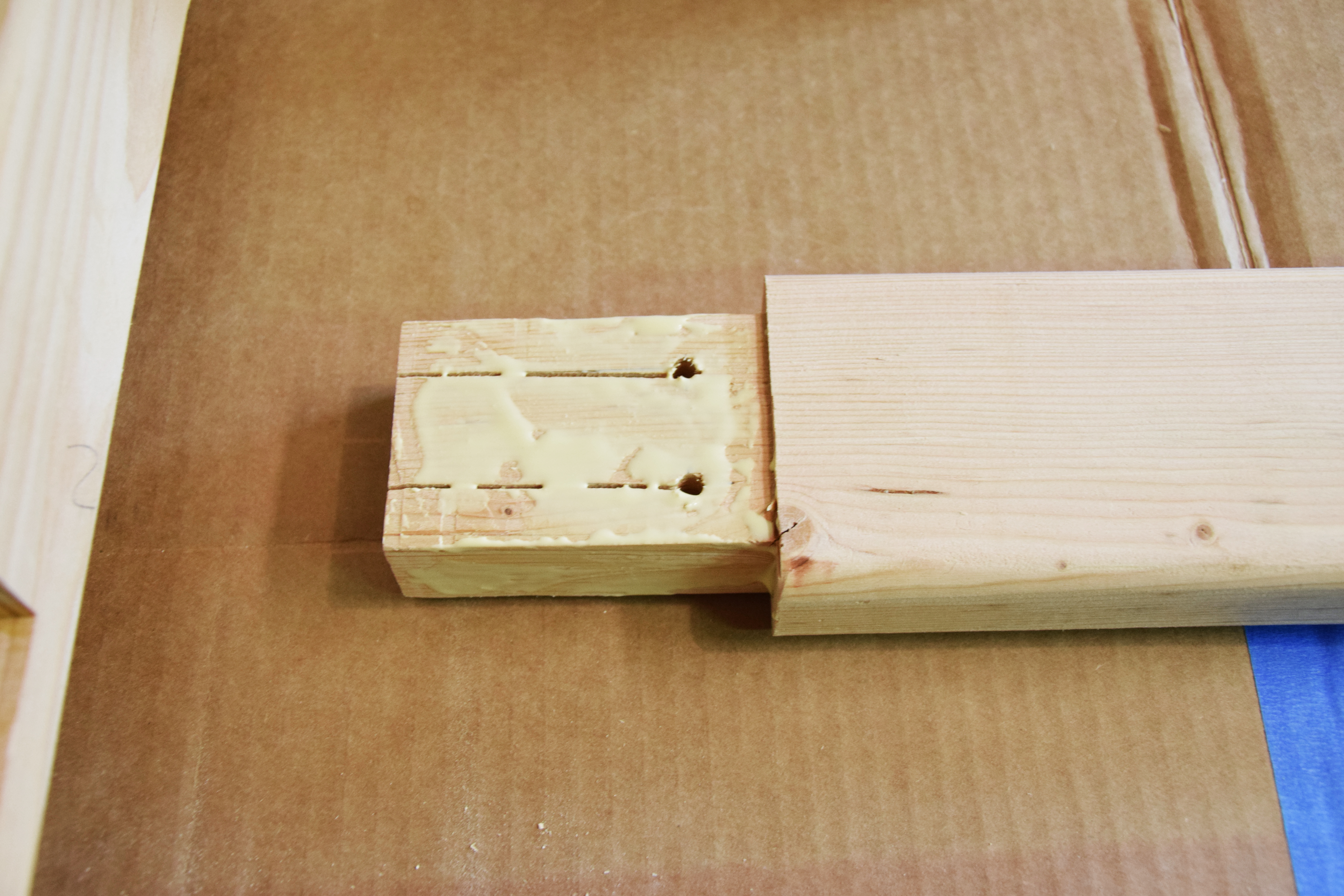 Picture of Assemble Wedged Tenons