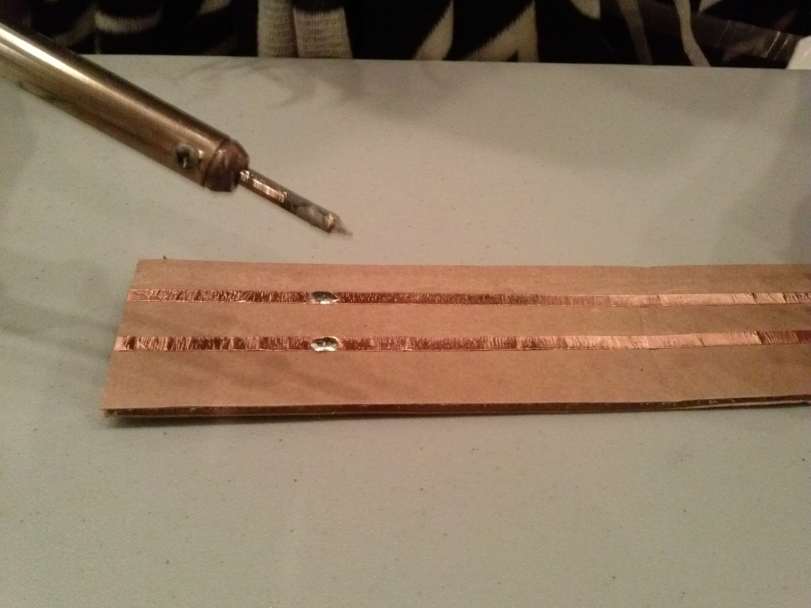 Picture of Adding Solder