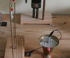 Cement Battery Powered Magbot Pendulum/Joule Thief