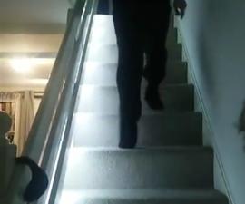 Smart staircase LED lighting
