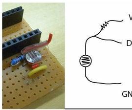 Using Photo Sensor As Analog Imput