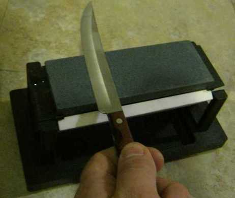 Picture of Sharpening Process