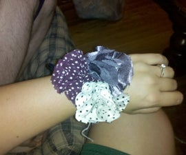 Fabric Flower Corsages and Boutonnieres