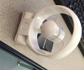 Solar-Powered Fan