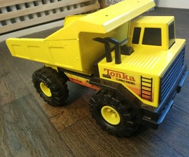 I Restored an Old Tonka Truck for My Son