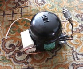 How to Modify a Fridge Compressor Into a Silent Air Compressor